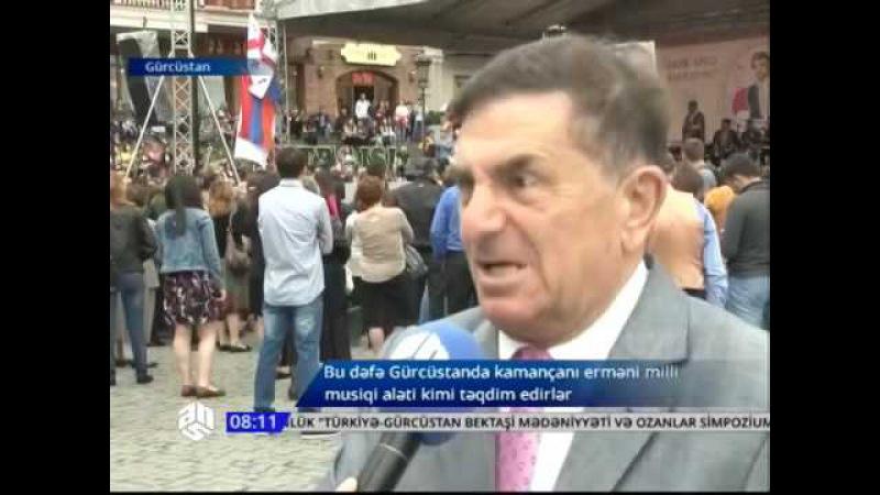 Tiflis şəhərində ermənilər təxribat törətdi