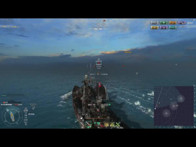 World of Warships Кит или Слон Gneisenau vs Scharnhorst c GetFun Z1ooo World of Warships