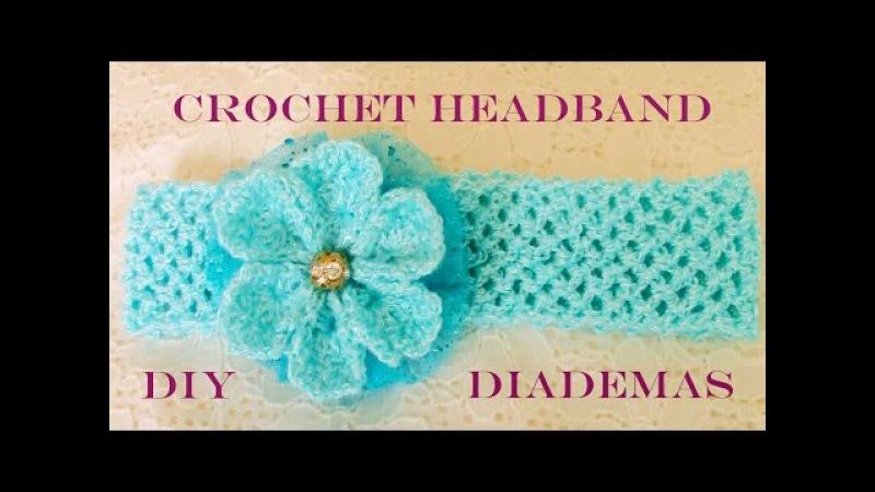 DIY flores y diademas hermosas - flowers and beautiful headbands