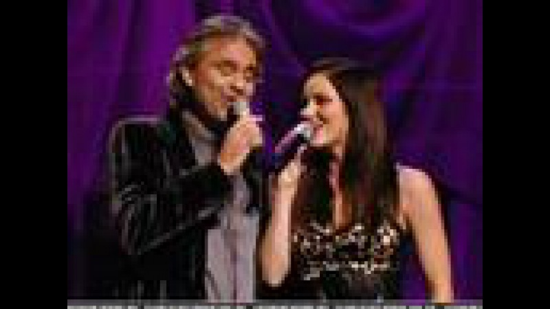 Katharine McPhee Andrea Bocelli - Can't Help Falling In Love