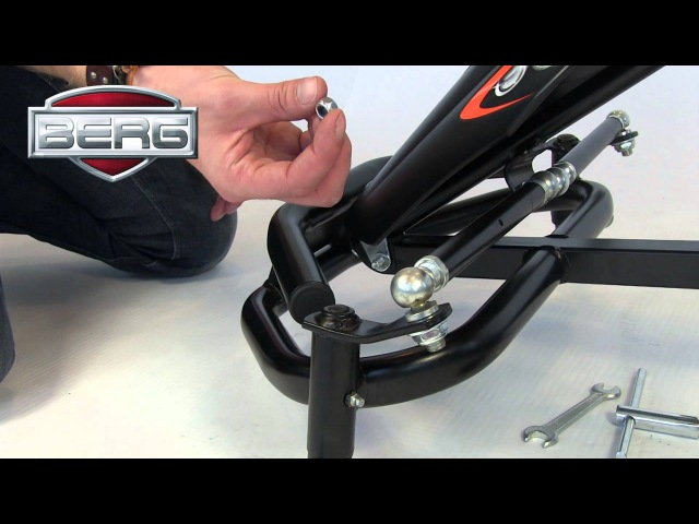 BERG Black Edition pedal-gokart | assembly movie