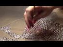 Вышивка бисером люневильская вышивка свадебного платья