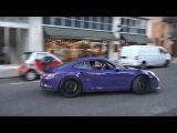 Porsche GT3 RS 'drive like you stole it'! Crazy drifts and burnouts in the city