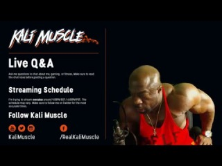 Monday with Kali Muscle: MEN WORRIED ABOUT MEN !?!?! { Q & A #18}