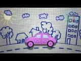 Машинки мультфильм  Мультики для самых маленьких  Учим цвета песенки для малышей