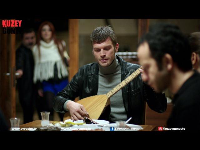 Kuzey Güney 11 Bölüm Kıvanç Tatlıtuğ Saçlarını Yol Getir HD