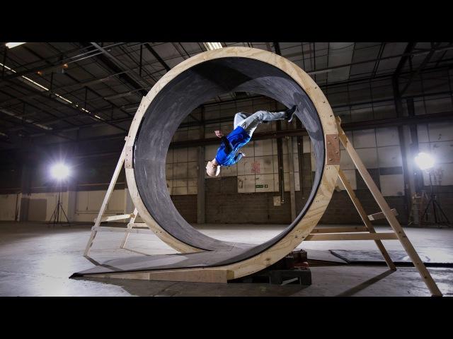 Human Loop the Loop with Damien Walters - Pepsi Max. Unbelievable LiveForNow