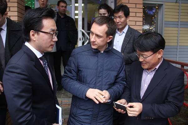 Представители южнокорейской компании побывали на промышленных площадках Альметьевска