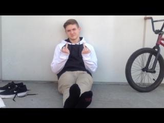 Young Blonde Soccer/BMX'er's Hot & Dirty Feet