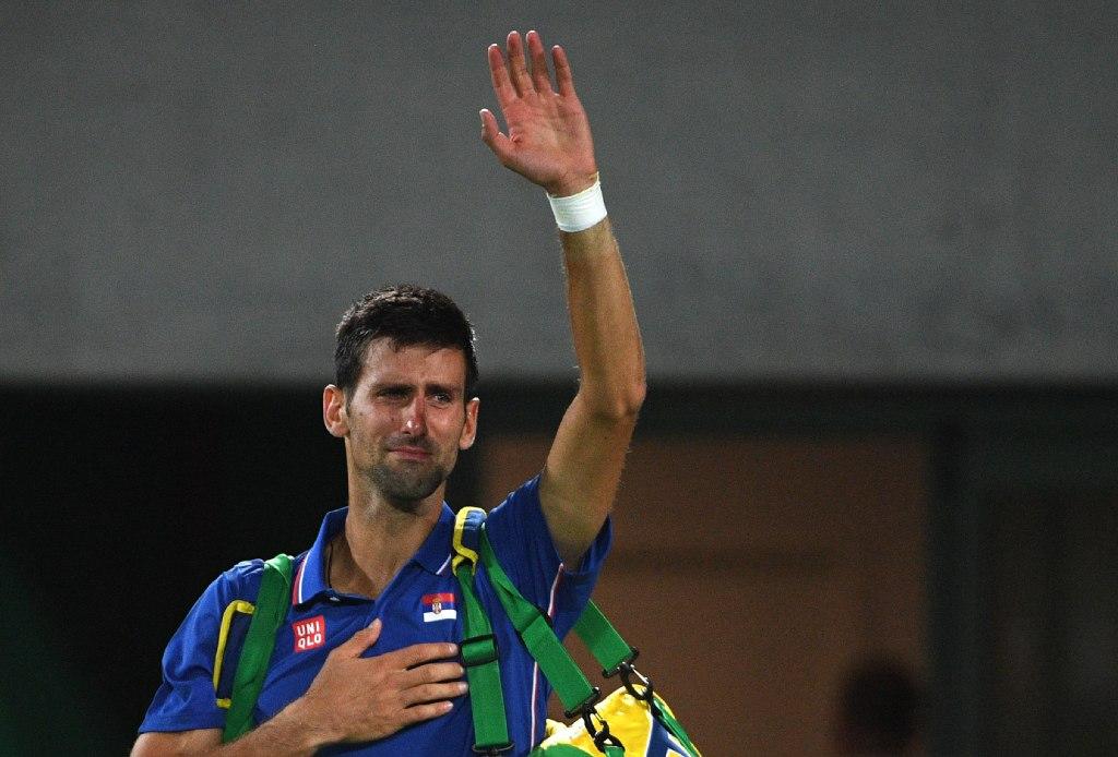 Djokovich Novak Rio 2015 loss