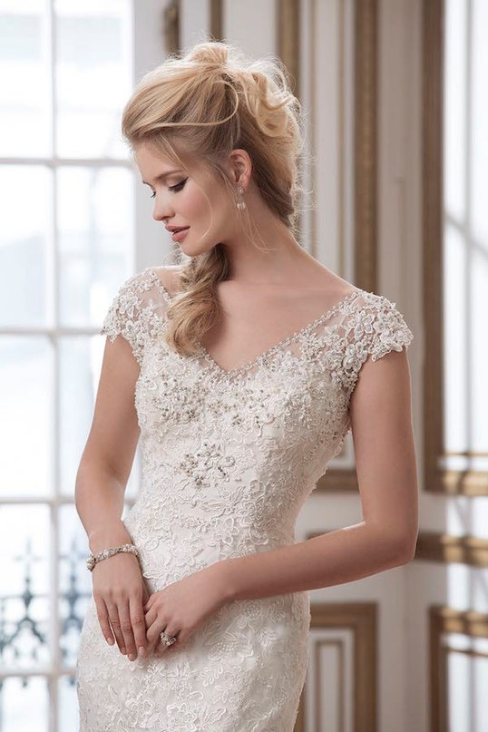 NNlNLLM9fhw - Свадебные платья от Justin Alexander