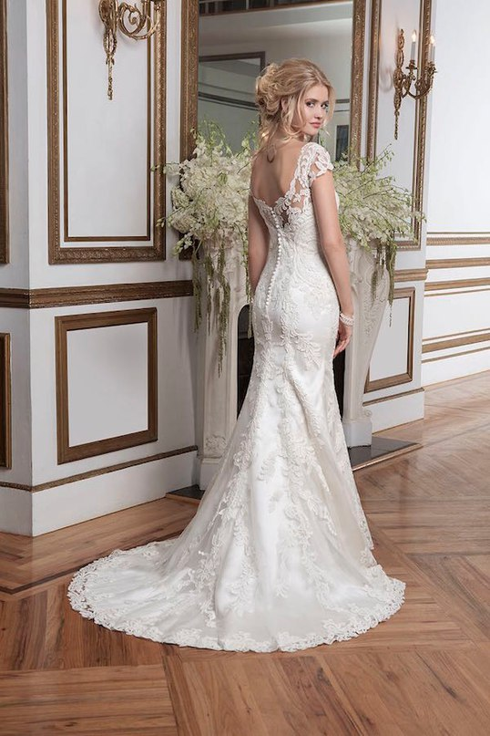 qAnqybzOZlo - Свадебные платья от Justin Alexander
