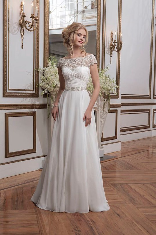 zVAsPWI7Qyg - Свадебные платья от Justin Alexander