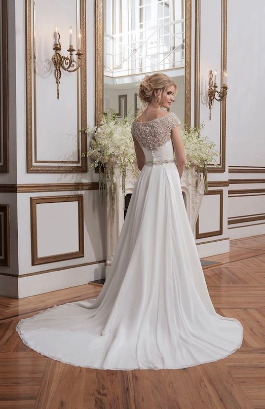 Mb9aIdb3vlA - Свадебные платья от Justin Alexander