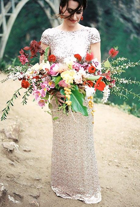 MKIE3LXZcvQ - Органические свадебные букеты (25 фото)