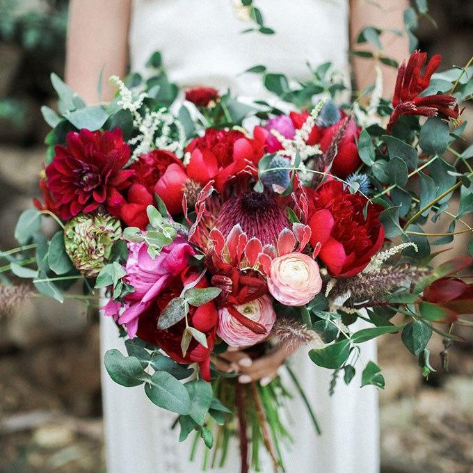 2a9KTY0rSGA - Органические свадебные букеты (25 фото)