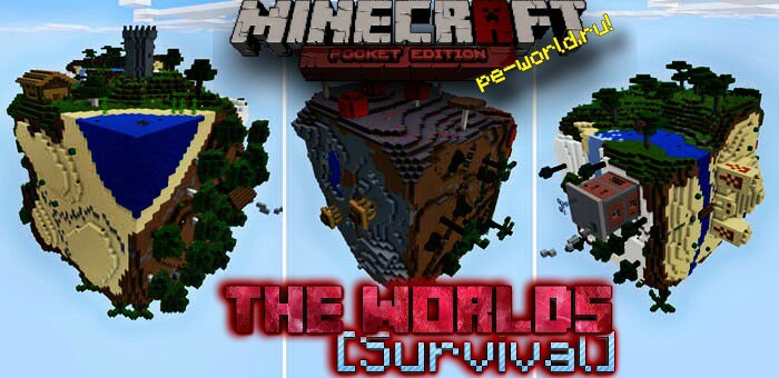 Превью для «The Worlds|MINECRAFT PE 0.15.x»