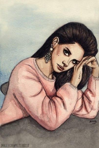 картинки на телефон нарисованные девушки: