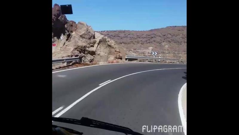 Дорога в Puerto de Mogan