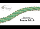 How to Create Diagonal Patterns with Peyote Stitch