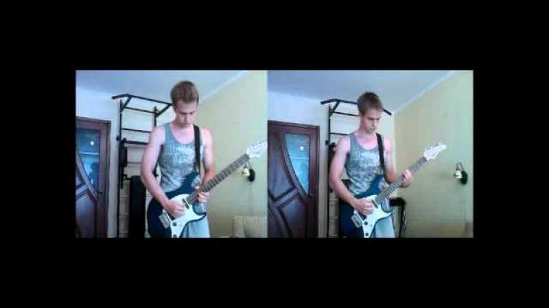 Disturbed - Stricken (vocalguitar) acoustic cover