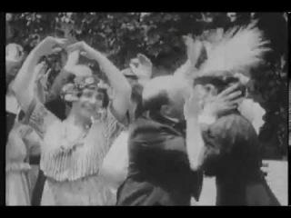 Лысый влюблен в танцовщицу - 1916  Старая немая комедия