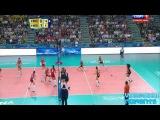 Волейбол. Женщины. ЧМ в Италии 2014.  Россия - Нидерланды