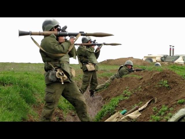 Стрельба из РПГ-7В