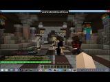 Играем в майнкравт  на сервере Cristalix #2