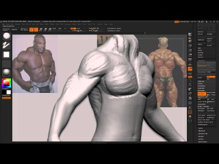 Zbrush Tutorial Answering TrickiiT How to sculpt detailed muscles pretty quick and dirty tut