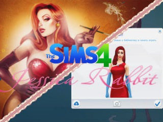 Sims 4 Jessica Rabbit