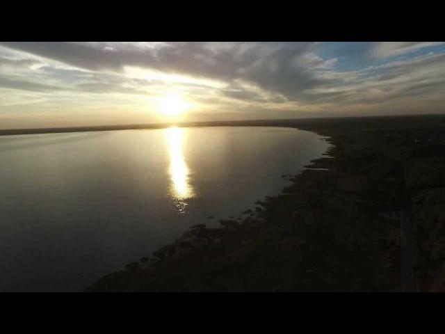 Плещеево озеро с высоты (Pleshcheyevo lake)