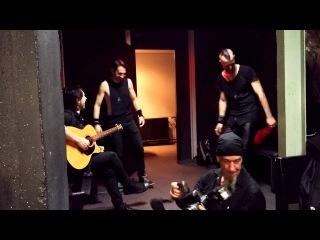 VLAD IN TEARS im K17 kurz vor dem Auftritt 2015 - Jamming Green Day