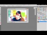 | Photoshop lessons |урок 3 красная тень