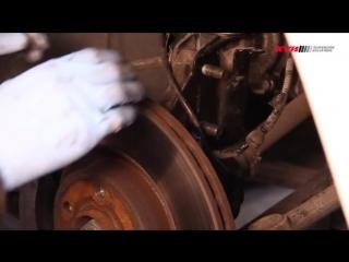 FIAT Doblo 2 и FIAT Cargo замена передних амортизаторов