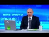 Прямая линия с В.Путиным. Вопрос о поставках С-300 Ирану (16.04.2015)