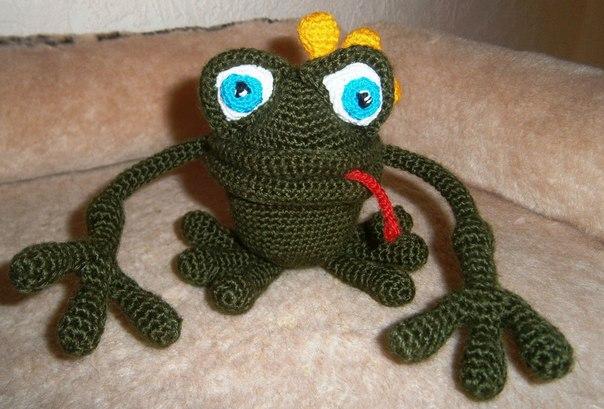 Вяжем царевну-лягушку