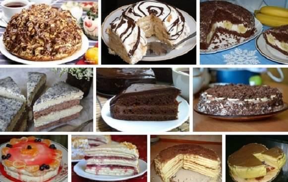 Самые вкусные торты список