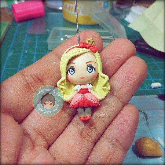 Поделки кукол из полимерной глины 392