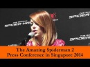 The Amazing Spiderman Press Conference 2014 by Robin Stienberg, National Critics Choice