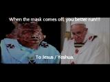 Pope Lucifer Francis believes, Jesus is the son of Satan. BLASPHEMY
