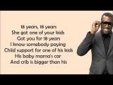 Kanye West - Gold Digger (feat. Jamie Foxx) Lyrics Video