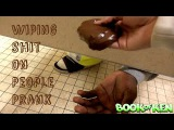 Wiping Sh*t On People Prank Part 3 : Bathroom Prank Gone Wrong