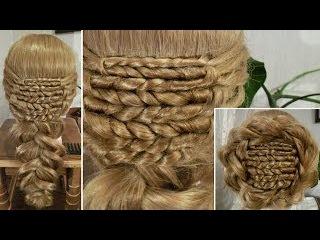 Плетение из волос - Пшеница