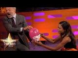 Naomie Harris Re-enacts Her Sexy Bond Shaving Scene - The Graham Norton Show