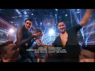 Rumer & Val Winners of DWTS Season 20 Week 10 Finale - Dancing With The Stars 2015