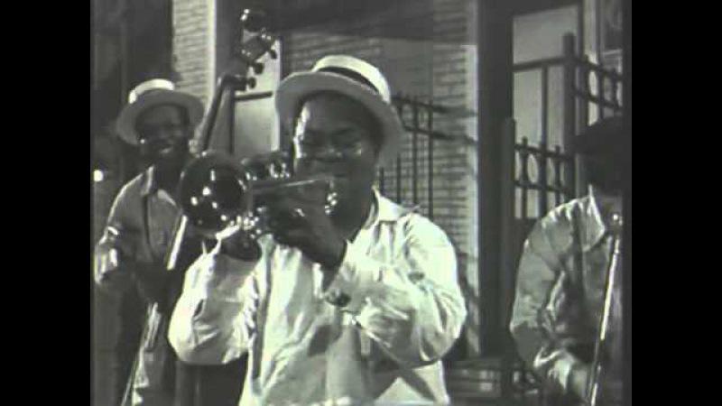 Sidney Bechet Louis Armstrong Django Reinhardt 1952, La Route Du Bonheur (excerpt)