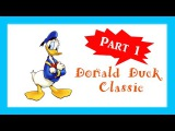 Donald Duck Classic ♫ Donald Duck Cartoons Full Episodes Full Movie - 1 HOUR Part 1 - English - HD