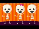 Skeleton Dance | Halloween Songs for Kids | Shake Dem Halloween Bones | The Kiboomers
