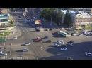 Авария на перекрёстке ул.Гоголя и Красного проспекта 05.08.15.